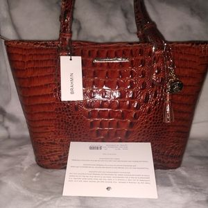 Brahmin Medium Asher Pecan